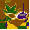 Mardi Gras Mask II-icon