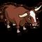 Red Devon Ox-icon