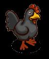 Schwarzes Huhn-icon