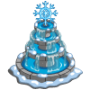 Snowy Winter Fountain-icon