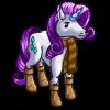 Winter Fashion Unicorn-icon