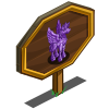 Amethyst Pegacorn Mastery Sign-icon