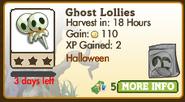 Ghost Lollies market info (October 2012)