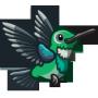Green Hummingbird-icon