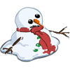 Melting Snowman-icon