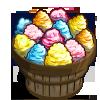 Rainbow Candy Floss Bushel-icon