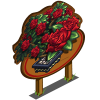 Red Rose Bonsai Tree Mastery Sign-icon