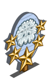 Sugar Snowflake 5 Star Mastery Sign-icon