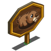 Baby Groundhog Mastery Sign-icon