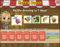 Raffle Booth Draw April 2 2012
