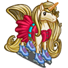 Rollerblading Unicorn-icon