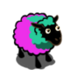 Turquoise Persian Rose Ewe-icon