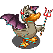 Evil Horned Duck-icon