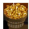 Gilded Flower Bushel-icon