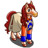 Saffron Sash Horse-icon