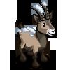 Snowy Alpine Ibex-icon