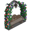 Garden Trellis Bench-icon