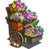 Tiered Flower Cart-icon