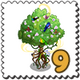 Tree of Life Stamp-icon