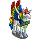 Color Pixel Pegacorn-icon