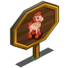Coral Foal Mastery Sign-icon