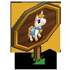Golden Mini Foal Mastery Sign-icon