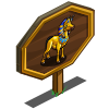 King Tut Horse Mastery Sign-icon