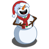 Laughing Snowman-icon