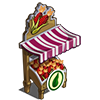 Organic Red Corn Stall-icon