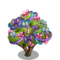 Rosette Bow Tree-icon