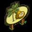 Golden Malayan Coconut Tree