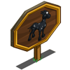 Half Moon Horse Mastery Sign-icon