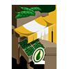 Organic Pea Stall-icon