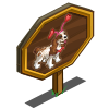 Pink Heart Cocker Spaniel Mastery Sign-icon