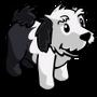 Sheep Dog Puppy Black-icon