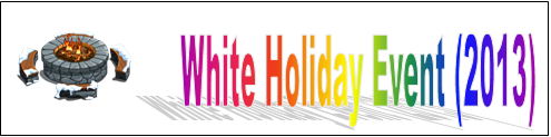 White Holiday Event (2013) Event Banner