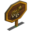 African Wild Dog Mastery Sign-icon