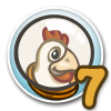 Cluck Rogers Chicken in Space Quest 7-icon