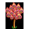 Flaming Dandelion Tree-icon