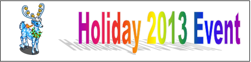 Holiday 2013 Event (2013) Event Banner