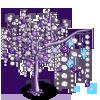 Purple Crystal Tree-icon