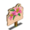 Pink Easter Lily Mastery Sign-icon