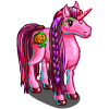 Pink Pumpkin Unicorn-icon