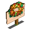 Pumpkin Wreath Mastery Sign-icon