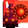Radiant Sun Tree-icon