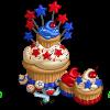 July Cupcake Tree-icon
