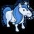 Light Blue Pony-icon