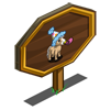 Mini Party Horse Mastery Sign-icon
