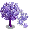Snowflake II Tree-icon