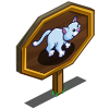 Blue Baby Cat Mastery Sign-icon
